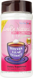 Superior Source Stevia Leaf Extract