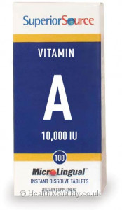 Superior Source Vitamin A 10,000 IU