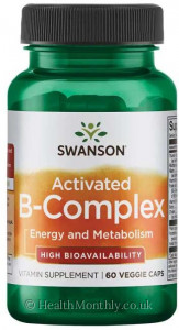 Swanson Activated B-Complex High Bioavailability