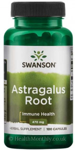 Swanson Astragalus Root