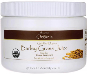 Swanson Certified Organic Barley Grass Juice Powder