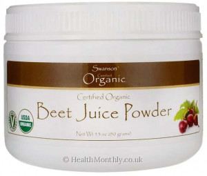 Swanson Certified Organic Beet Juice Powder