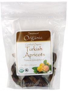 Swanson Certified Organic Turkish Apricots