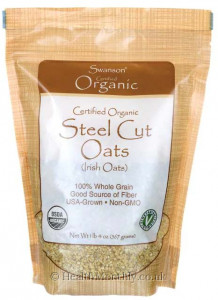 Swanson Certified Organic Steel Cut Oats
