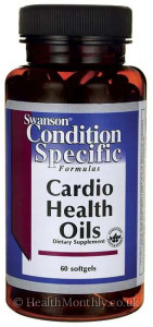 Swanson Condition Specific Formulas Cardio Health Oils