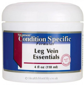 Swanson Condition Specific Formulas, Leg Vein Essentials Cream