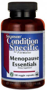 Swanson Condition Specific Formulas, Menopause Essentials