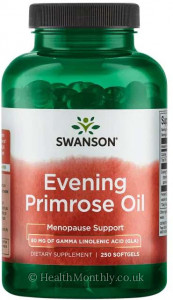 Swanson Evening Primrose Oil GLA