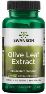 Swanson Extra Strength Olive Leaf Extract