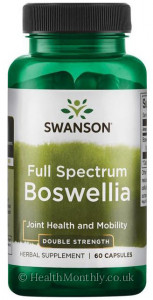Swanson Full Spectrum® Double Strength Boswellia