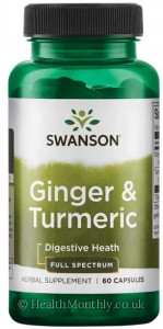 Swanson Full Spectrum® Ginger & Turmeric