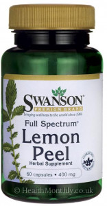 Swanson Full Spectrum® Lemon Peel