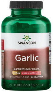 Swanson Odour-Controlled Garlic