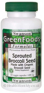 Swanson Sprouted Broccoli Seed