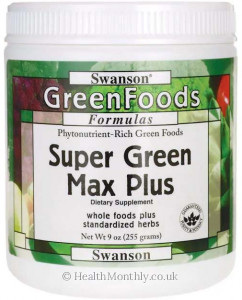 Swanson Super Green Max Plus
