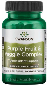 Swanson Purple Fruit & Veggie Complex