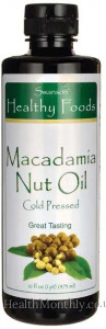 Swanson Healthy Foods Macadamia Nut Oil