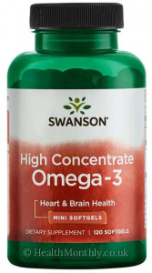 Swanson High Concentrate Omega-3