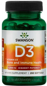 Swanson High Potency Vitamin D3