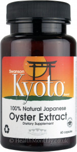 Swanson Kyoto® 100% Natural Japanese Oyster Extract