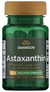 Swanson Maximum Strength Astaxanthin