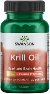 Swanson Maximum Strength Krill Oil