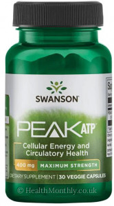 Swanson Maximum Strength Peak ATP®