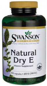 Swanson Natural Dry Vitamin E