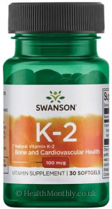 Swanson Natural Vitamin K-2