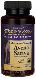 Swanson Passion Avena Sativa 10:1 Extract