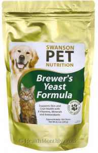 Swanson Pet Nutrition Brewer's Yeast Formula