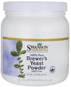 Swanson 100% Pure Brewer's Yeast Powder