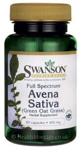 Swanson Full Spectrum® Avena Sativa, Green Oat Grass