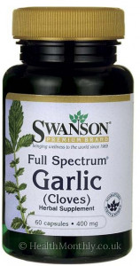 Swanson Full Spectrum® Garlic, Cloves