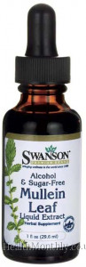 Swanson Mullein Leaf Liquid Extract