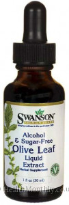 Swanson Olive Leaf Liquid Extract