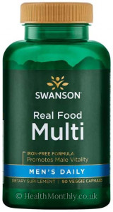 Swanson Real Food Multi Men's Daily