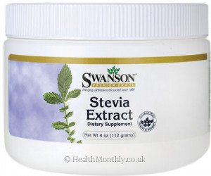 Swanson Stevia Extract Powder