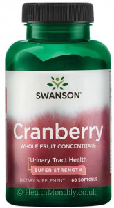 Swanson Cranberry, Whole Fruit Concentrate