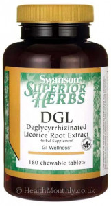 Swanson DGL, Deglycyrrhizinated Licorice Root Extract