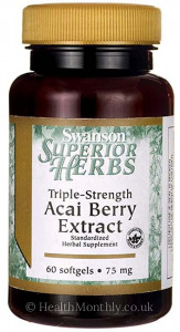 Swanson Triple-Strength Acai Berry Extract