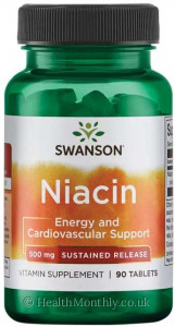 Swanson Sustained Release Niacin