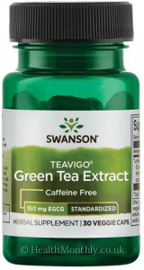 Swanson Teavigo® Green Tea Extract, Standardised