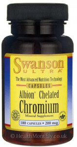 Swanson Ultra Albion® Chelated Chromium