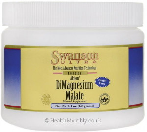 Swanson Ultra Albion® DiMagnesium Malate