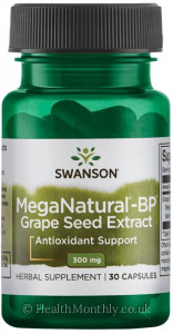 Swanson MegaNatural-BP Grape Seed Extract