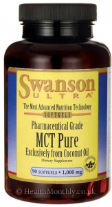 Swanson Ultra Pharmaceutical Grade, MCT Pure