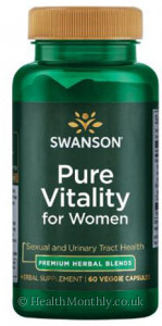 Swanson Pure Vitality for Women
