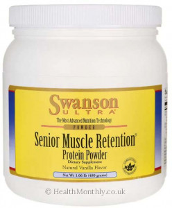 Swanson Ultra Senior Muscle Retention® Protein Powder