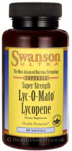 Swanson Ultra Super-Strength Lyc-O-Mato® Lycopene